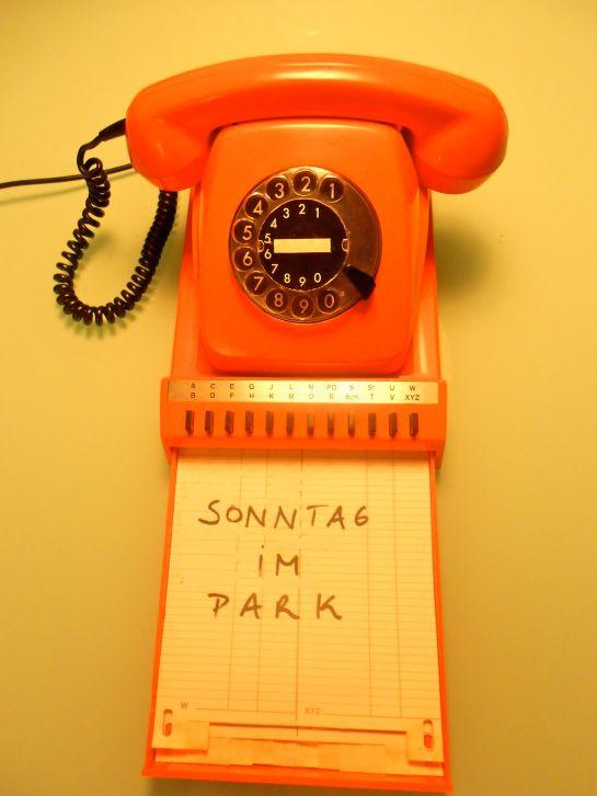 sonntag im park telephone