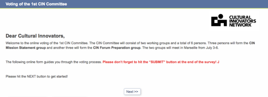 CIN Committee