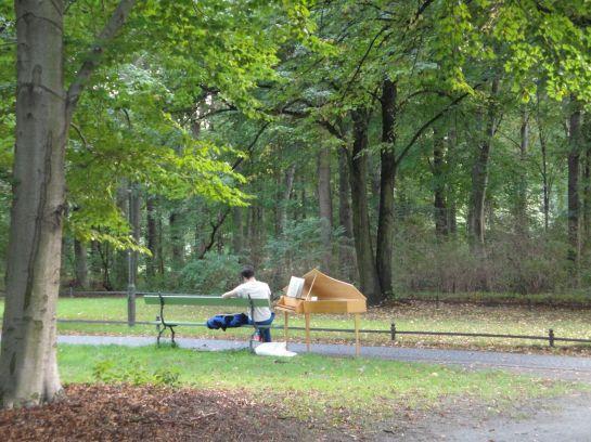 man im park