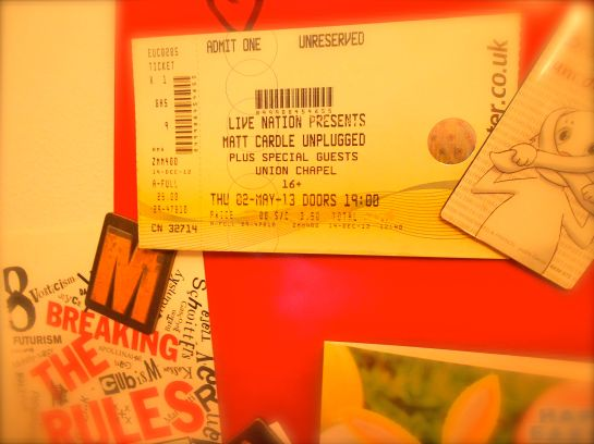 tickets for matt cardle