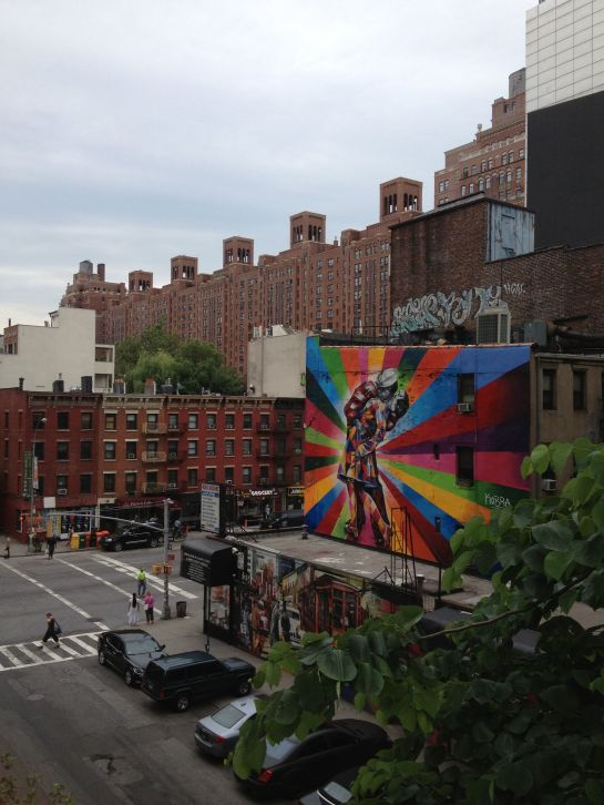 seen from the highline
