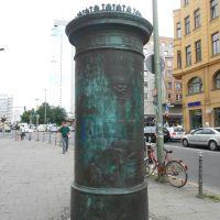 What is a Litfaßsäule? - Was ist eine Litfaßsäule?