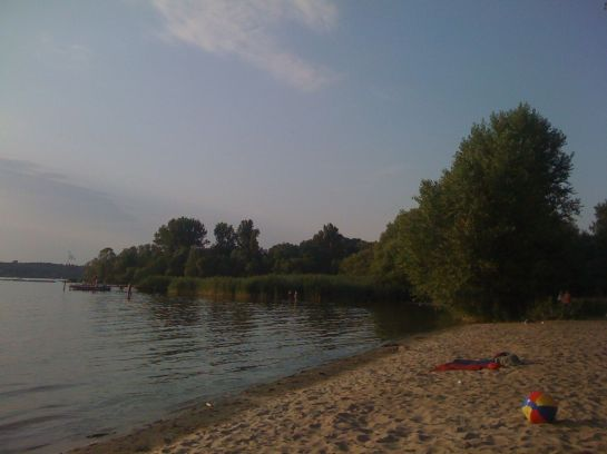 strand am wannsee