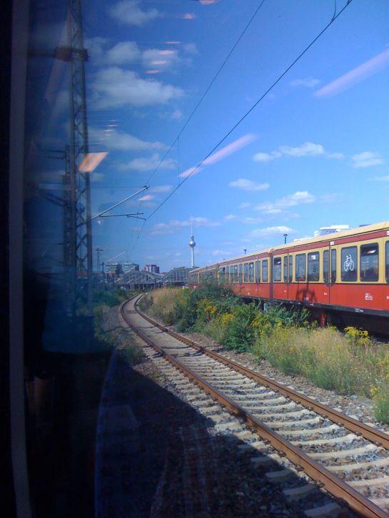 arriving in berlin
