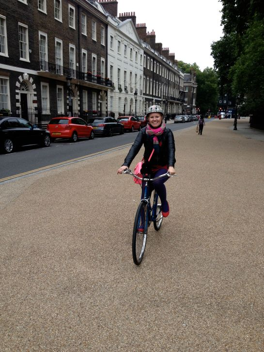 sonja cycling