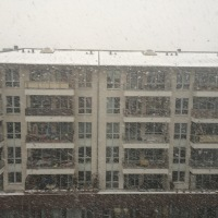 Snowing in Berlin
