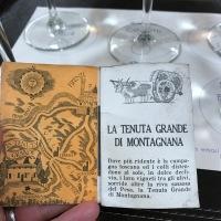 Vintage Italian wine tasting