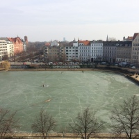 Engelbecken is frozen